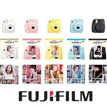 Мгновенный fuji instax fujifilm бесплатная фото фильм желтый mini розовый камеры