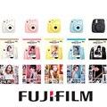 Fuji mini câmera de 8 filme instantâneo fujifilm fuji instax mini 8 foto Câmera New 5 Cores Branco Amarelo Rosa Azul Preto Livre presente