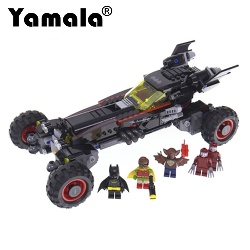[Yamala] 2017 Super Heroes Batman batman movie building Blocks Gift Toys for children Compatible with Legoingly Batman super heroes batman the scuttler building blocks new year gift diy figures toys for children compatible lepins 3d model