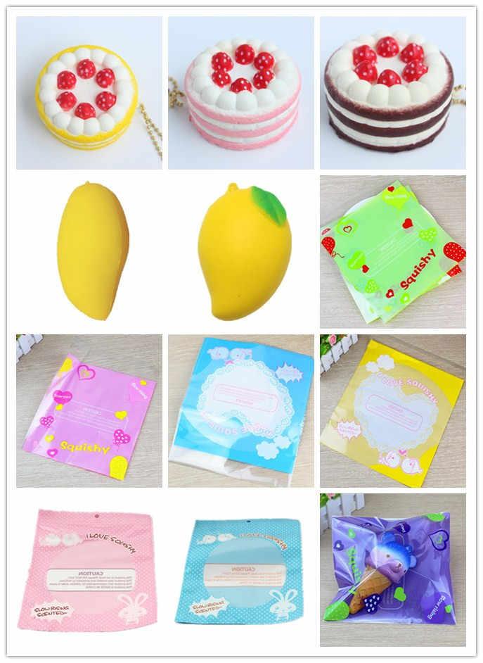 Jumbo mangue jouets spongieux lente montée spongieux fruits évent jouet parfumé crème décor emballage cadeau fraise gâteau