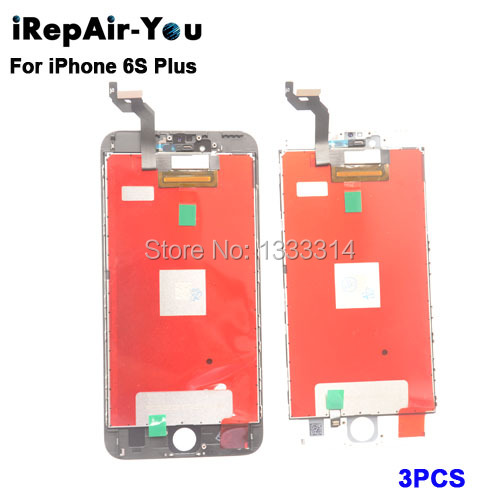 3PCS/Lot AAA+ No Dead Pixel LCD Screen For iPhone 6S Plus LCD Display With Touch Screen Digitizer Assembly 3pcs lot quality aaa lcd display for iphone 6s plus lcd screen lg brand digitizer touch assembly lifetime warranty dhl free ship
