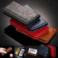 Magnet Leather Wallet Case for Huawei Honor Play 8A 8C 7X 6A 9i 6X 5C 4C V20 V10 6 8 9 Card Slot Flip Cover Case Honor 4A/Y6 8X