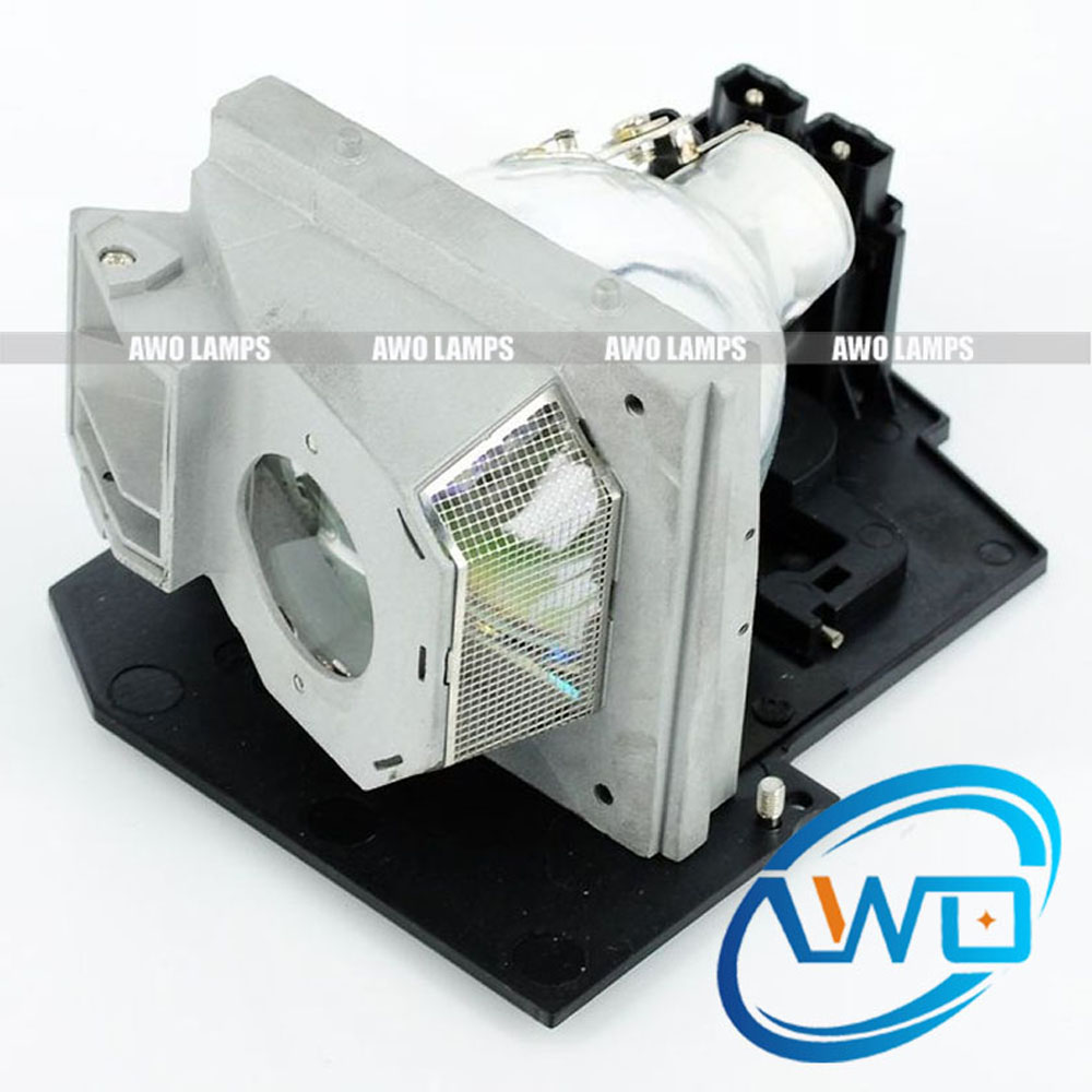 AWO Free Shipping 310-6896 / 725-10046 Replacement Projector Bare Lamp with Housing for DELL 5100MP Projector 150 Day Warranty awo high quality projector replacement lamp sp lamp 088 with housing for infocus in3138hd projector free shipping