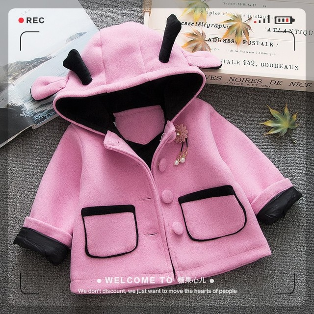e382151a1e51 Girls clothes Trench Coats Jackets For Clothing Tops Kids children s ...