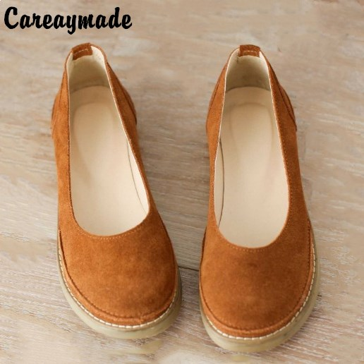 269e1c0f4 Careaymade 2018 nova garota Mori cabeça da boneca bonito sapatos retro sapatos  grandes de cabeça fazer velhos sapatos feitos à mão