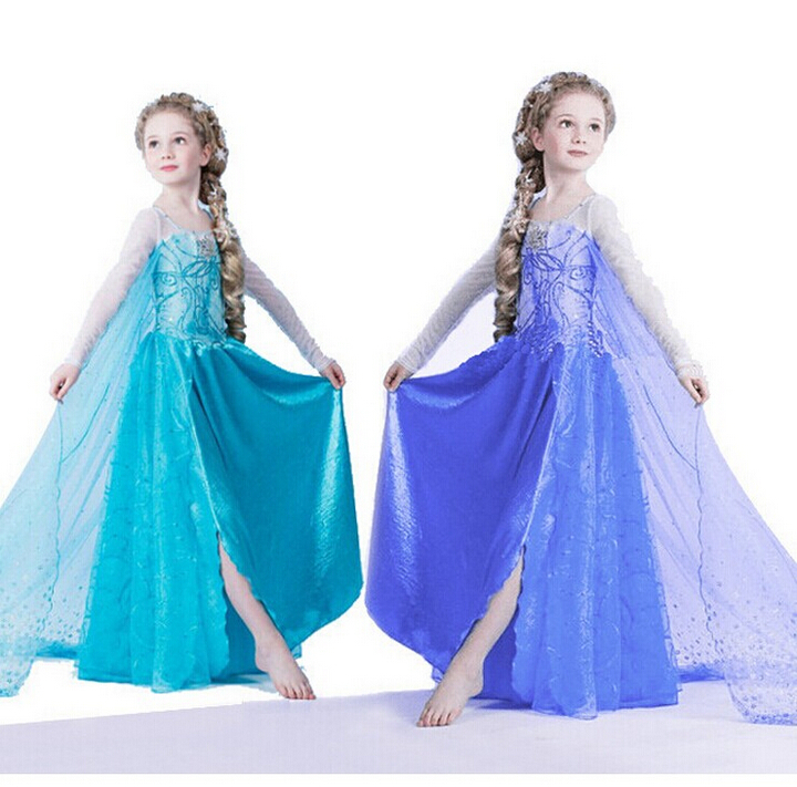 FREE SHIPPING Snow queen skirt dress costumes cosplay