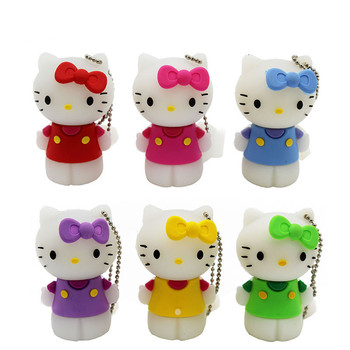 Cute hello kitty USB Flash Drive USB 2.0 Usb stick USB Flash Drives