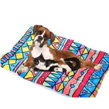 Pet Dog Cat Bed Rest Blanket Breathable Cushion Soft Warm Sleep Mat Size X-XL pet supplies cama perro