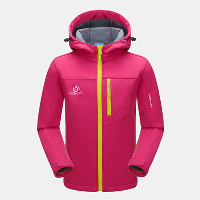 spring Winter Children Boys Girls Outdoor Waterproof Hiking Jackets Kids Thermal soft shell Coats windproof - .i want a home. store