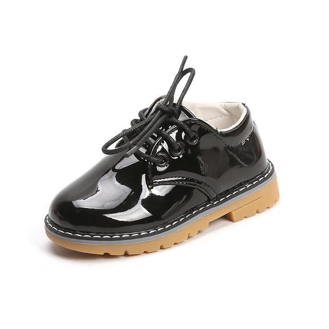 14f554da Zapatos de charol para niños, zapatos casuales para niñas, zapatos de moda  antideslizantes,