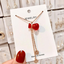 New small bottle choker necklace good quality color-preserving electroplating titanium steel women pendant