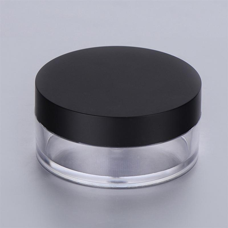 Image 4 - 20G Empty Powder Case Anti Leakage Double Layers Powder Puff Holder Makeup Powder Container with Mirror for Outdoors Home-in Refillable Bottles from Beauty & Health