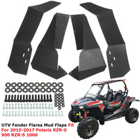 UTV Front Rear For Fender Flares Mud Flaps For Polaris RZR900 RZR1000 2015 2017