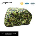 210T Durable Camouflage Motorcycle Cover Waterproof Anti-UV Tent Breathable All Motors XL 245 x 105 x 125cm Accessories