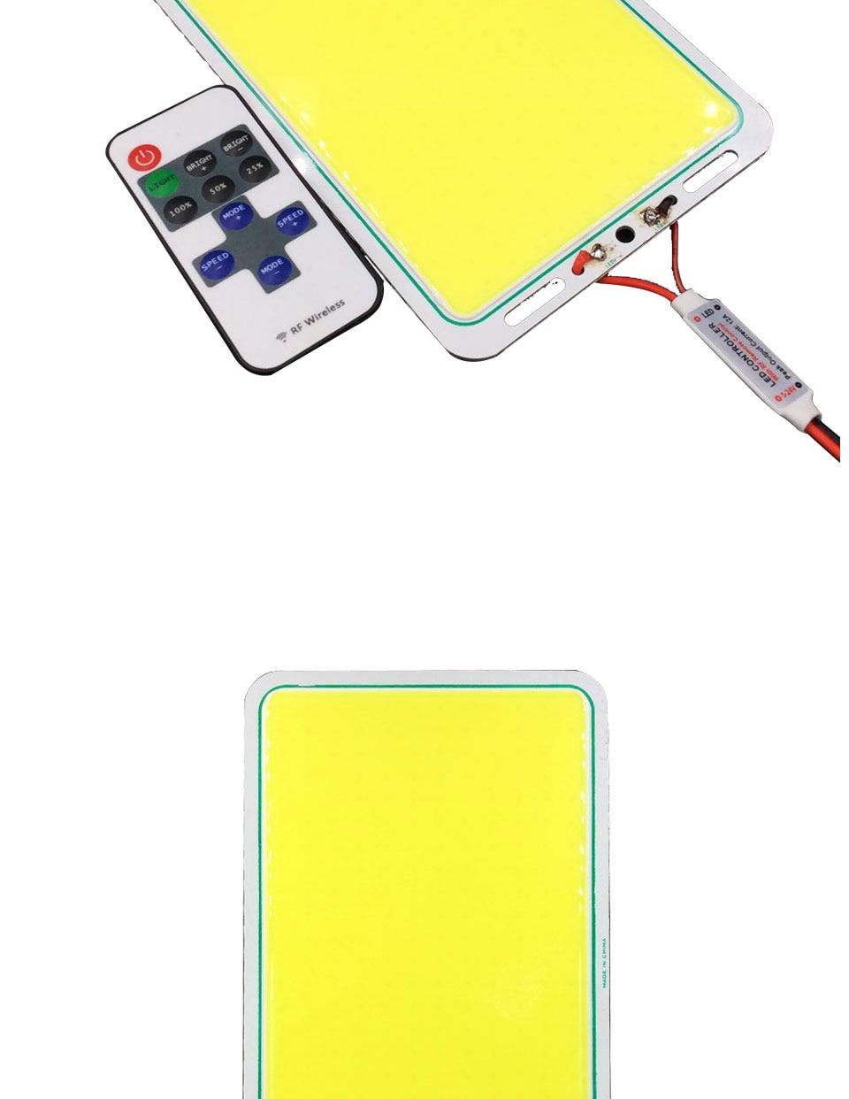 200w 12v cob led panel light car lighting bulbs outdoor lamp (10)
