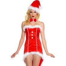 Взрослых Для женщин Хэллоуин Рождество сексуальный костюм принцессы женские красные Санта Косплэй трубки Хвостатые платье спинки Порно Игры для Обувь для девочек