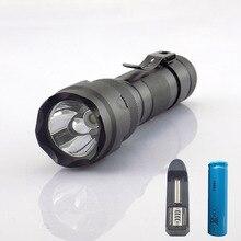 Portable Ultra Violet 395nm uv Flashlight purple linternas F