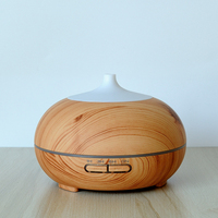 300ML Mini Humidifier Portable Home Aromatherapy Led Light Mist Maker Essential Oil Diffuser Electric Air Purifier