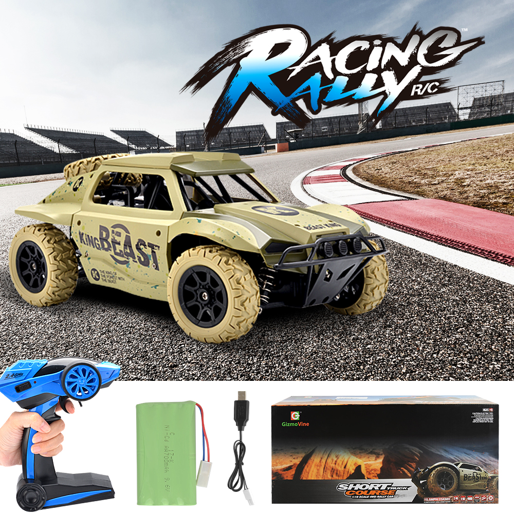 1/18 RC Car High Speed Off-road Drift Buggy 2.4GHz Radio Remote Control Racing Car Model Rock Crawler Vehicle Toys for Boys 1 24 4wd high speed rc racing car bg1510 rc climber crawler electric drift car remote control cars buggy off road racing model