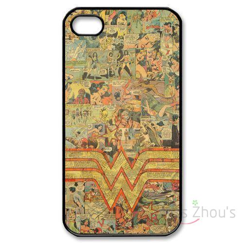 Для Samsung Galaxy Mini S3/4/5/6/7 Edge Plus note2/3/4 /5/7 Мобильный телефон Случаи Обложка Wonder Woman логотип DC Comics