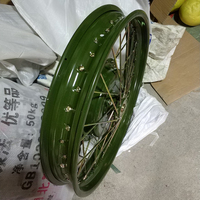 Ural CJ K750 motor 2.15 19 inch size front rear universal wheel rim comp case for BMW R1 R50 R71 M72 green or white color