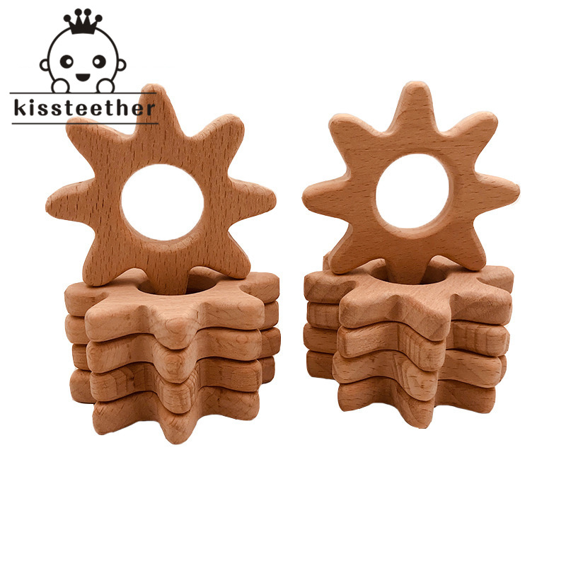 baby-teether-wood-gear-shape-teether-natrual-beech-wooden-montessori-baby-teething-toys-accessories-baby-products-chew-toy