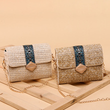 Round Straw Bags Summer Beach Women Weave Bag Sling For Vacation Woman 2019 Small Female