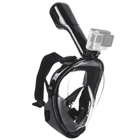 Swimming Diving Snorkeling Full Face Mask Surface Scuba For Gopro