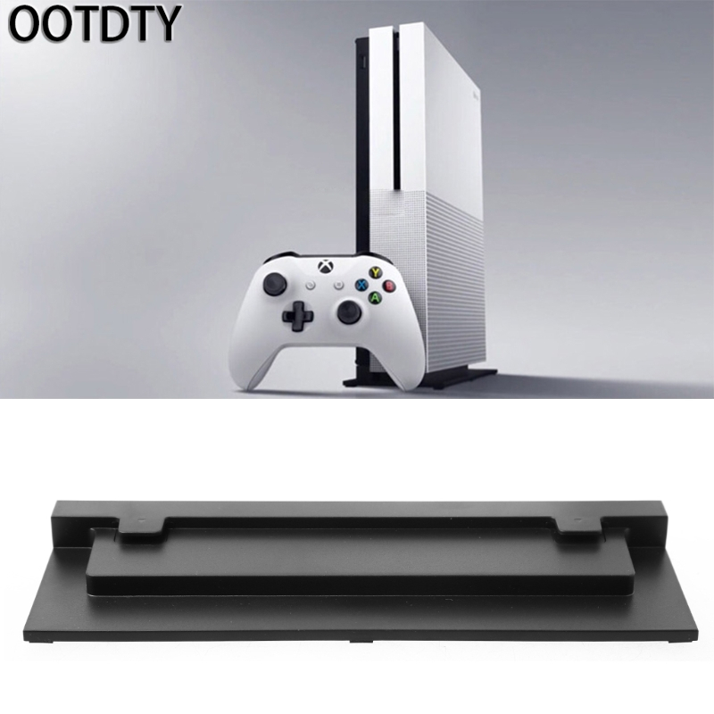 OOTDTY Vertical Host Stand Cooling Base Holder For Xbox One Slim S Video Game Console
