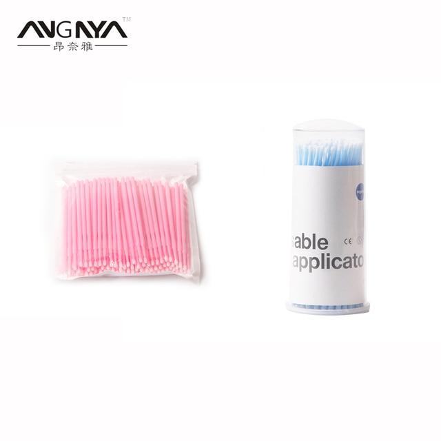 8fc079ff380 ANGNYA 100PCs/Pack Eyelash Extension Supply Individual Lash Removing Tools  Swab Beauty Tools Micro Disposable