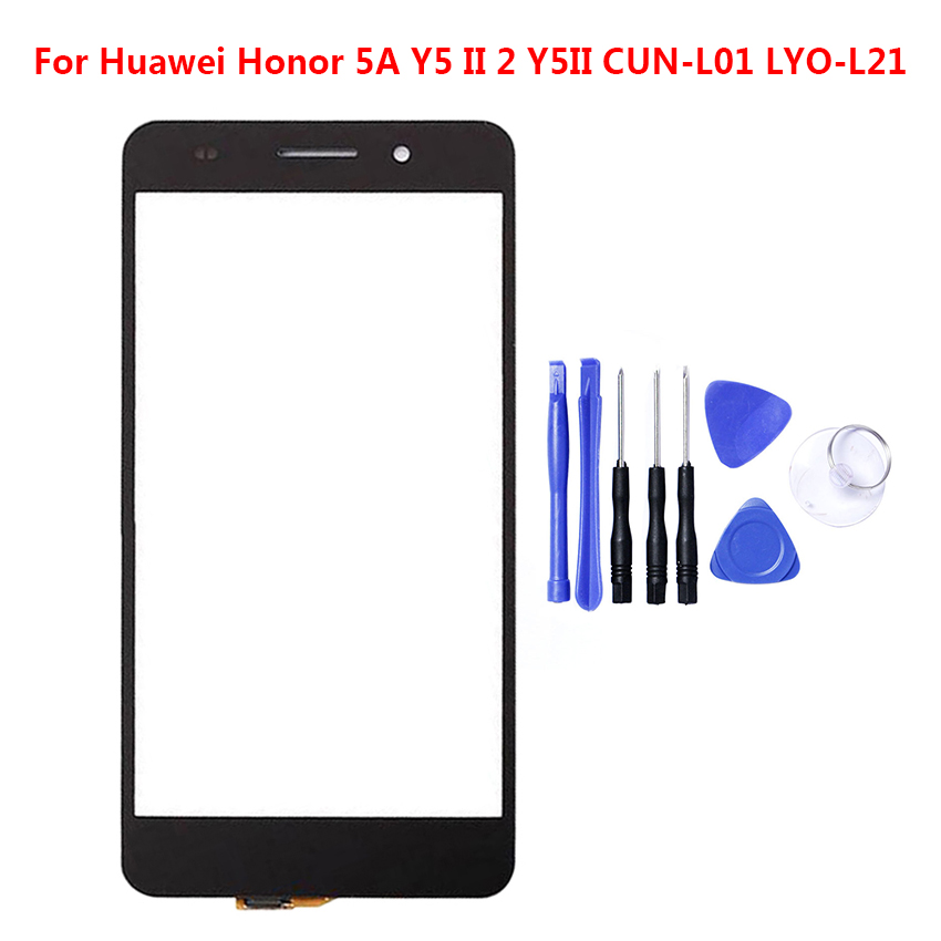Zerosky Touch Screen For Huawei Glory 5A Y5 II 2 Y5II CUN-L01 LYO-L Mobile Phone Touch Panel Digitizer Replacement Glass + Tool