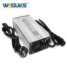 Зарядное устройство для батарей 58,4 в, 5 А, LiFePO4 для 16S, 48 в алюминиевых электрических инвалидных колясок, электровелосипедов, скутеров, гольф колясок