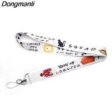 P3086 Dongmanli друзья ТВ Show шнур значок ID ремешки/мобильный телефон веревку/ключ шейные платки аксессуары
