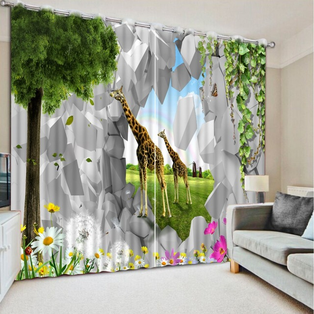 Model Home Curtains aliexpress : buy fashion 3d home decor beautiful model home