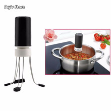 3 Speed Gear Automatic Stir Crazy Stick Blender Mixer Automatic Hands Free Tool Kitchen Food Auto Stirrer Blender household 3 speeds cordless crazy stirring stick blender automatic agitator mixer kitchen utensil food sauce auto stirrer