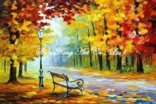 palette knife oil painting  modern oil painting canvas oil painting K185