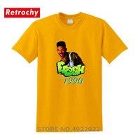 Футболка Fresh Prince of Bel Air tv Show, классические футболки с надписью Fresh Will Smith, футболка с 3D базовым дизайном для мужчин, футболки