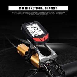 Bicicleta nueva soporte de montaje soporte de bicicleta soporte de montaje de manillar velocímetro para GARMIN Bryton CatEye GoPro linterna