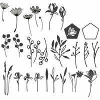 Cornflowers traw eukaliptus oddział kwiaty metalowe wykrojniki dla majsterkowiczów papier do scrapbookingu karty ozdobne rękodzieło 2019 nowa Die
