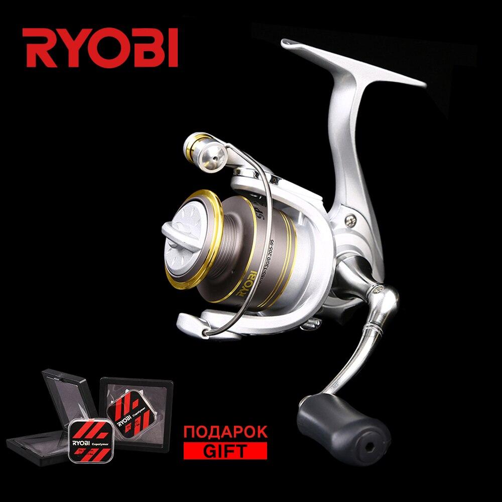 RYOBI spirituel 500/800 série 4BB rapport de vitesse 5.2: 1 Original japonais glace pêche roue 3 KG puissance pleine métal Spin pêche bobine