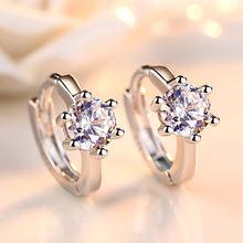 925 серебро модная блестящая обувь с украшением в виде кристаллов