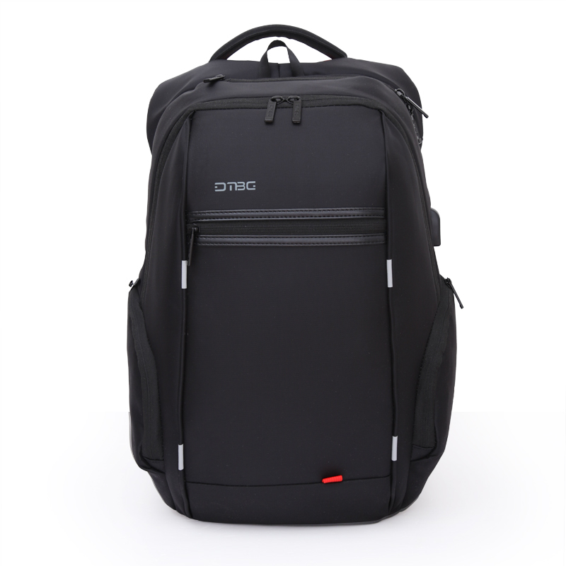 DTBG Reflective Stripe Backpack Men Women Business Smart Backpacks Waterproof Large Capacity Travel Bags School Bag For Teenager