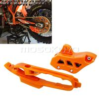 Motocross Orange Chain Guide Guard Chain Slider Guard for KTM SX SXF SMR XC XC F 125 250 350 450 2011 2019 Swingarm Guard