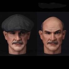 Custom 1/6 Sean Connery Head Sculpt ANTMAN Deadpool Tony Stark James Bond Hot Toys Suit