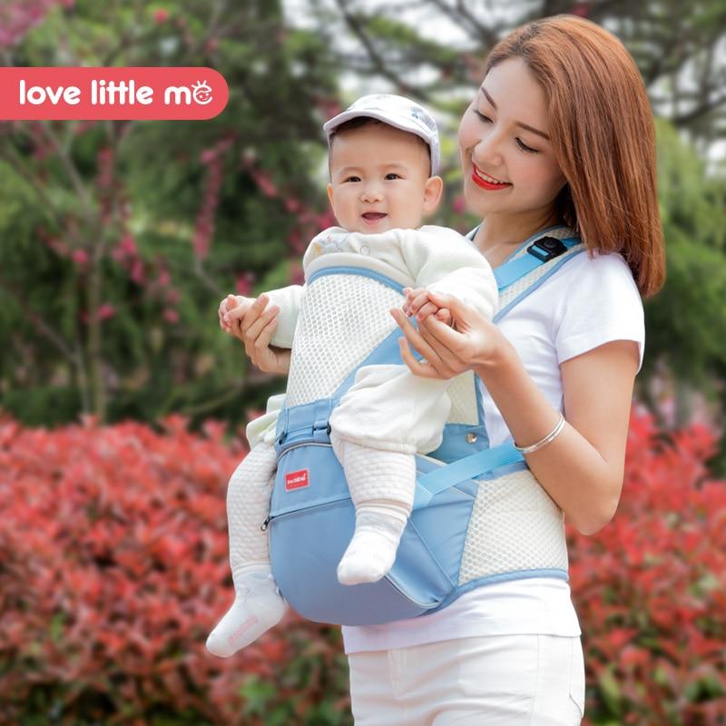 Love little me original multifonction bébé porteur 3-24 mois tas kangourou décomposable utilisation bébé écharpe pour enfants 20 kg