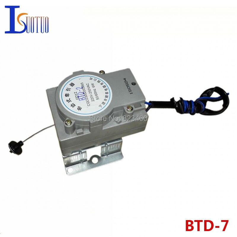 Jinling Washing Machine Drainage Tractor BTD-7/BTD-2 Washer Electric Retractor Original Drain Valve Motor washing machine parts tractor ntcu 402kc2 90mm drain motor valve