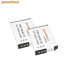 цена на 2X ENEL12 EN-EL12 Battery for Nikon Coolpix A900 AW130 AW120 S9900 S9500 W300 S9700 S9600 S6000 S8200 AW110 S9100 S9400 L15