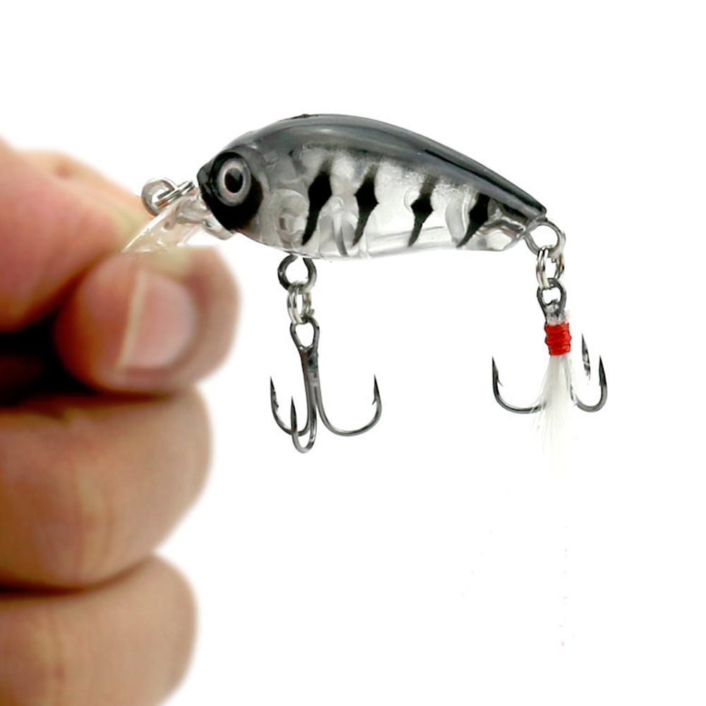High quality fishing lures crank baits mini crankbait 3d for Fish eye hook