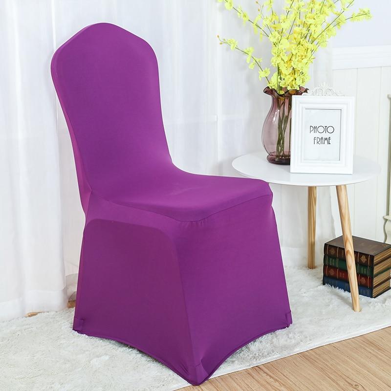 30 farver Spandex stolbetræk lycra dækning til stol spisestue - Hjem tekstil - Foto 2