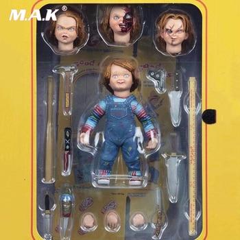 4 Ultimate Chucky Doll Child's Play Good Guys Action Figure PVC with Original Box майка print bar good guys